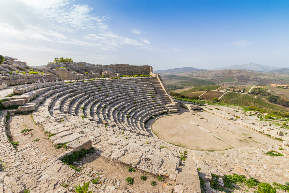 Segesta Amphitheatre