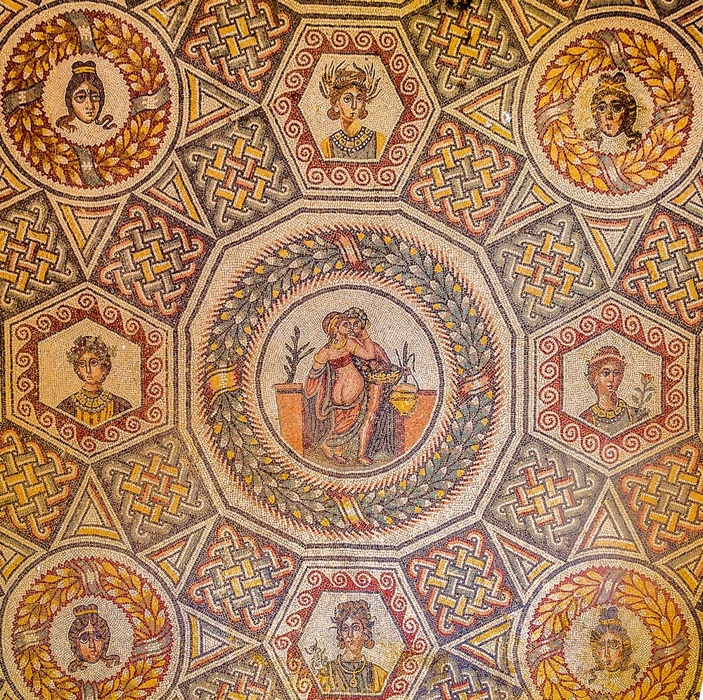 mosaic in Villa del Casale