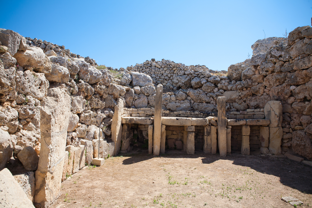 The Ggantija temples, Gozo