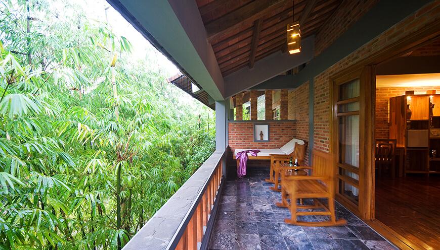 Pilgrim Village Resort, Hue Family-Deluxe-balcony.jpg