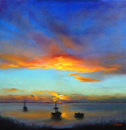 Sunset Reverie, by Trish Wend
