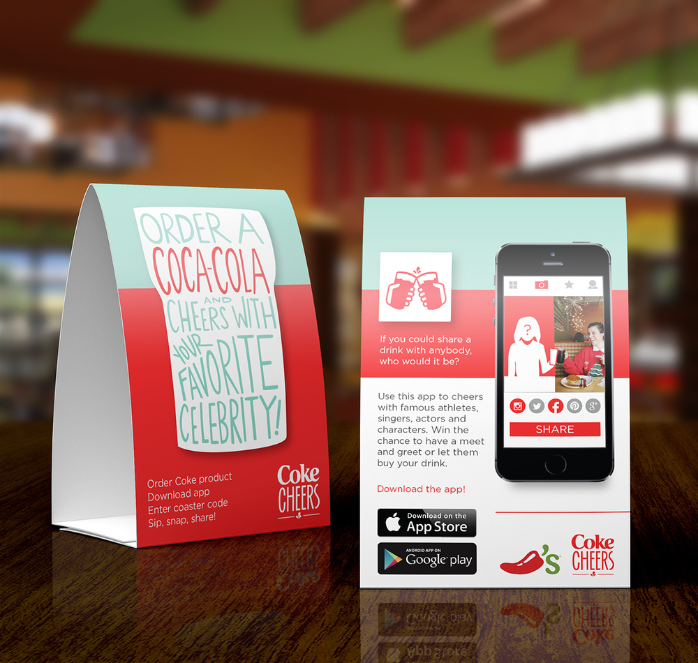 Cocacola Hannah Soloperto - Restaurant table app