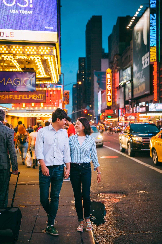 영화의 스틸-컷처럼 스프라찌가 구현하는파파라찌 포토그래피 내추럴 스타일. - by Han, NYC