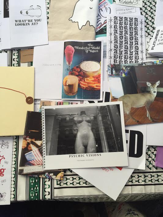 Psychic Visions at 8 Ball Zine Stand at MOMA PS 1