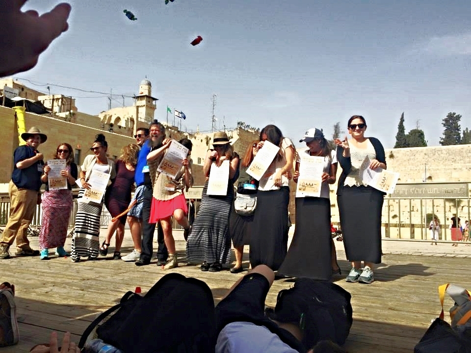 Birthright BarBat Mitzvah at the Kotel.jpg