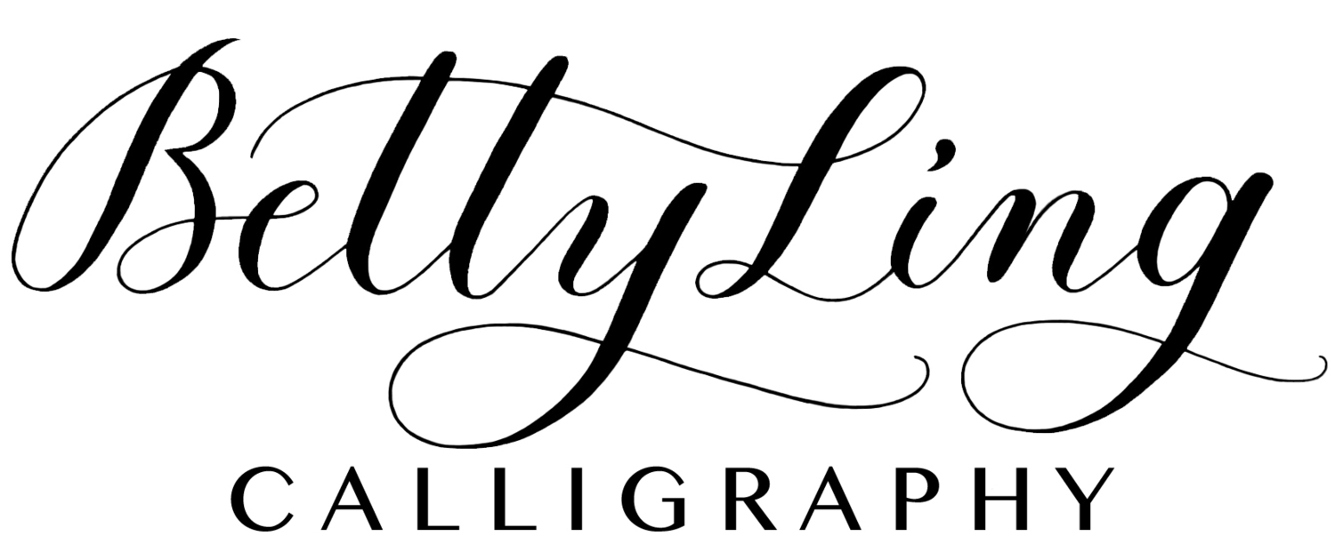 Betty Ling Calligraphy: Los Angeles Calligrapher for Weddings and Events