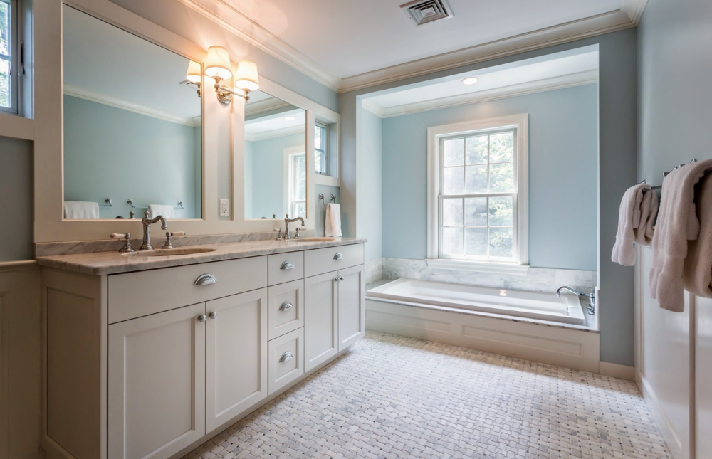 Master Bathroom Detail For Darien CT Renovations