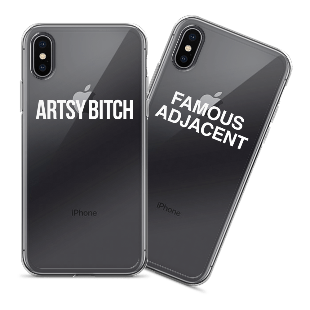 Cases? For your phone?Groundbreaking.  - Yes they're see-through. Yes it's cool.