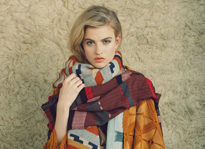 A Peace Treaty Ethically-produced each season by different village artisans from around the world, this scarf is my pick of the Fall/Winter 2012 collection.