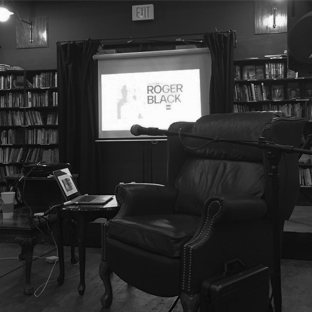Waiting for proceedings to begin: An evening with #rogerblack at the #lastbookstore in #DTLA @aigalosangeles #AIGA