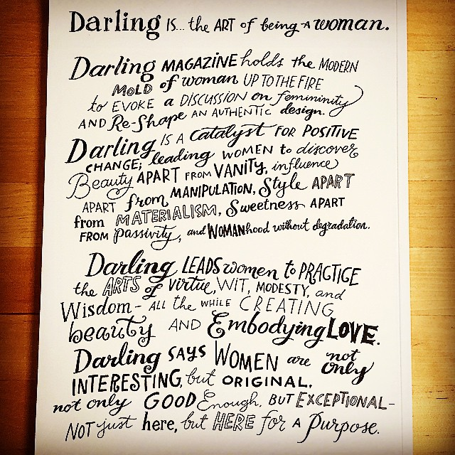 A breath of fresh air: The Art of Being a Woman #darlingmovement @darling Thanks for my copy @betsywinchell