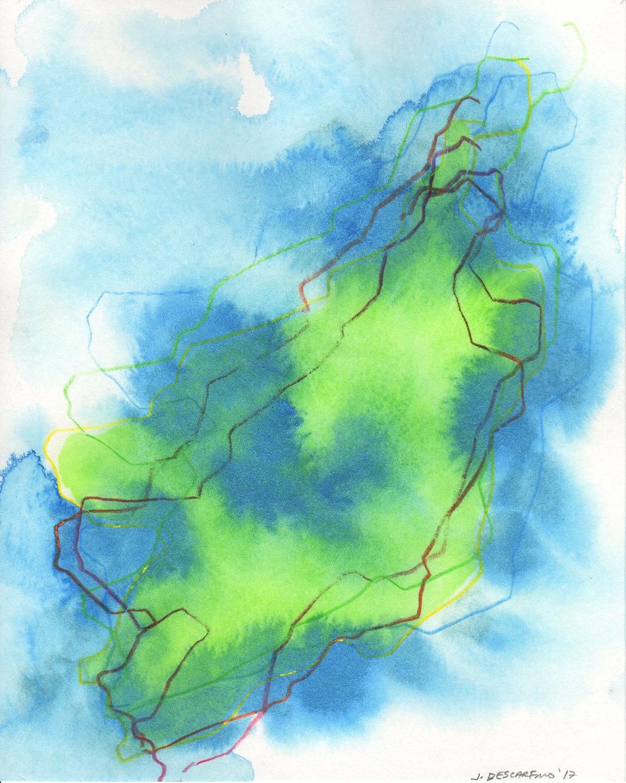 """""""Blind Navigations: Hy-Brasil"""" (I)  2017"""