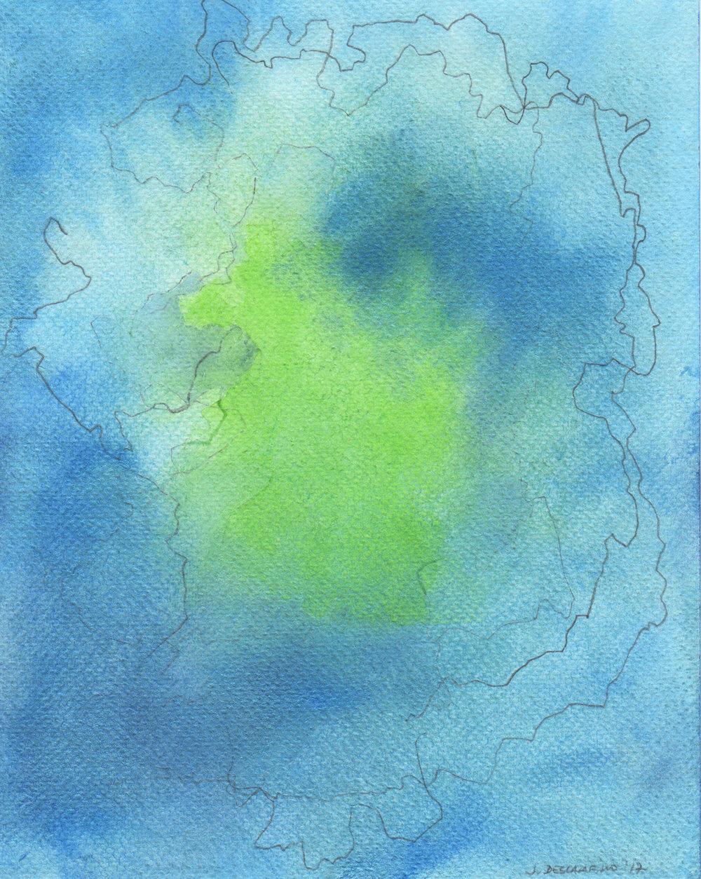 """""""Blind Navigations: Frisland"""" (II)  2017"""