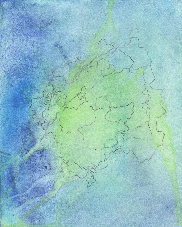 """Blind Navigations: Thule"" (IV)  2017"