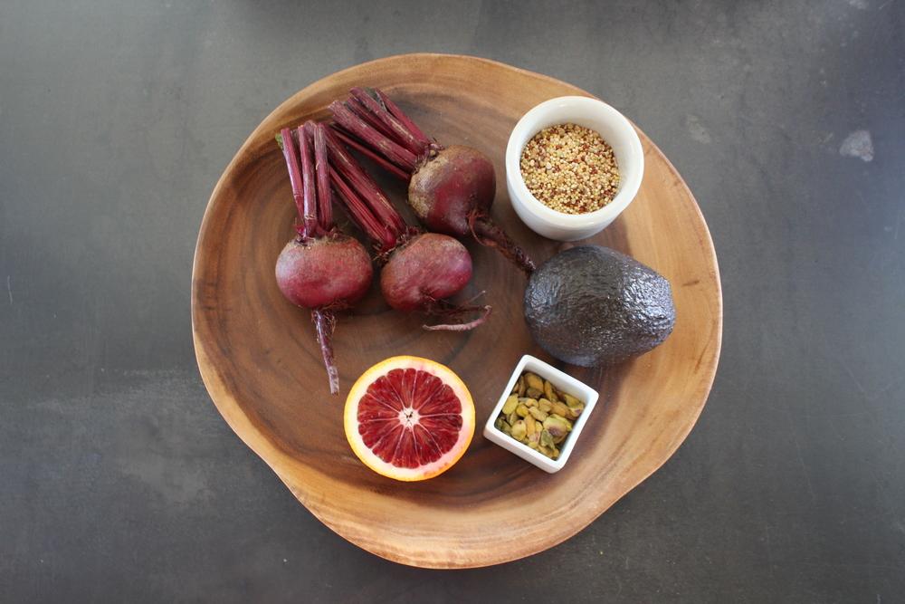 beets & quinoa