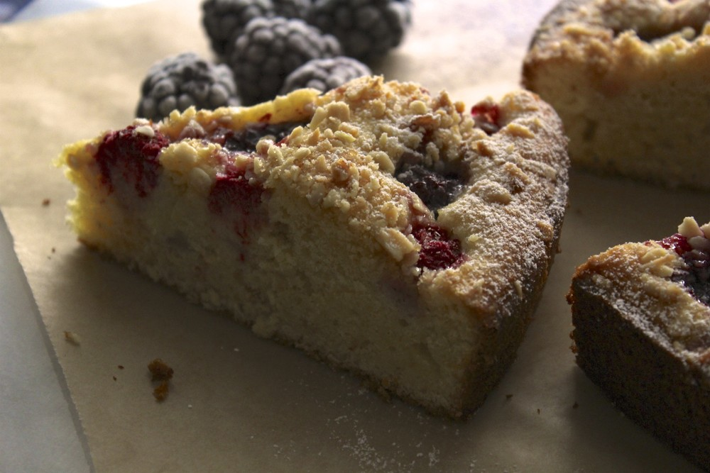 lavender and almond blackberry lavender almond cake big city kitchen