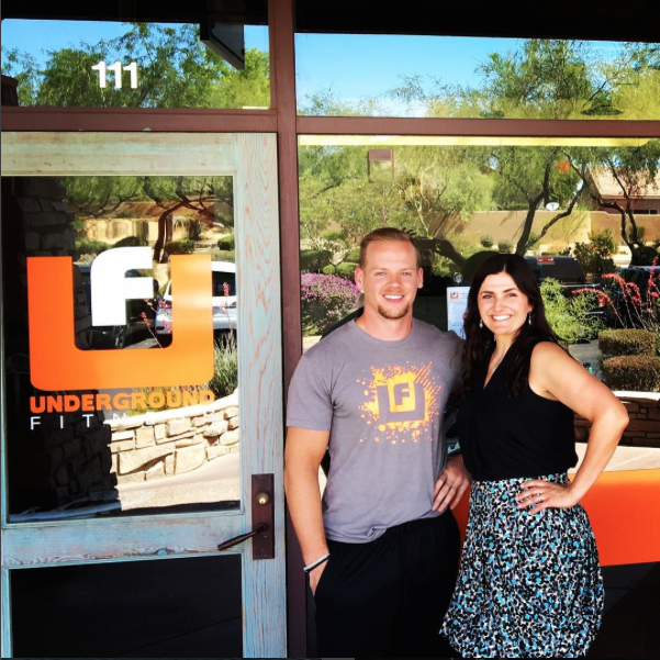 Owner of Pure knead Massage with Max Sherwin of Underground Fitness