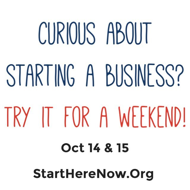 Curious about starting a business? Try it for a weekend! Join a fantastic group of #women #entrepreneurs having a #fun #weekend #starting good #businesses in #houston! Link in bio or www.startherenow.org . . . . #htx #eado #eastend #eadohouston #startherenow #entrepreneur #business #startup #womeninbusiness