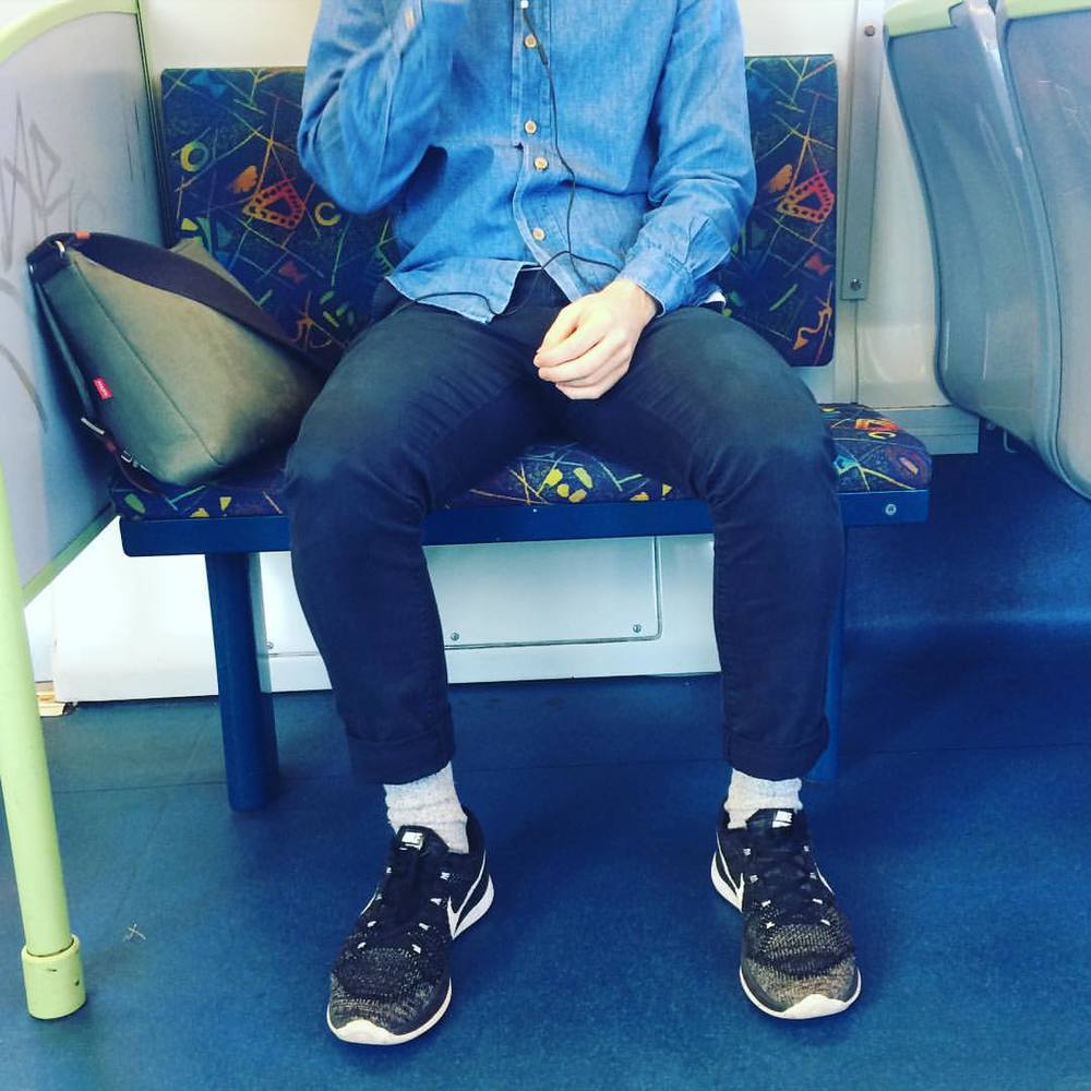 Denim dude! #fashiontraining #nike #melbourne