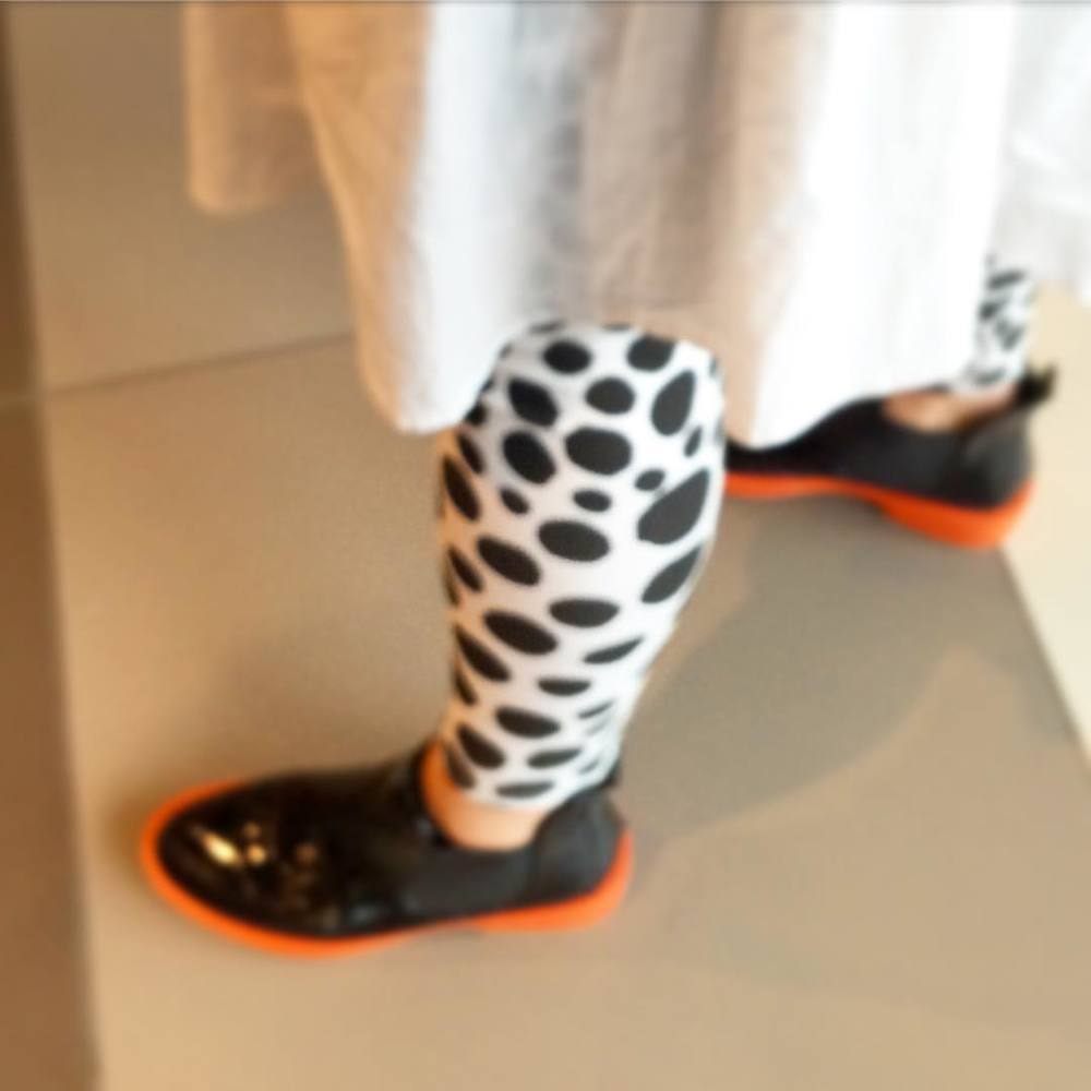 Spots and gumboots! Perfect for our wet Melbourne weather! #fashiontraining #melbourne #getcreative