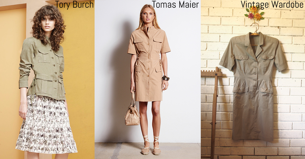 Military style is still coming through the in the resort collections. Get your classic block from our ‪#‎VintageWardrobe‬ for only $35.00, FREE delivery to anywhere in Australia. ‪#‎getcreative‬ ‪#‎inspire‬  http://www.lauralana.com.au/shop/army-dress-vw00001