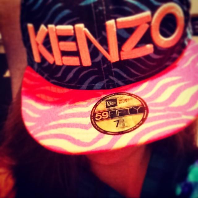 Feeling a kind of #Kenzo Wednesday! #getcreative #coolcap