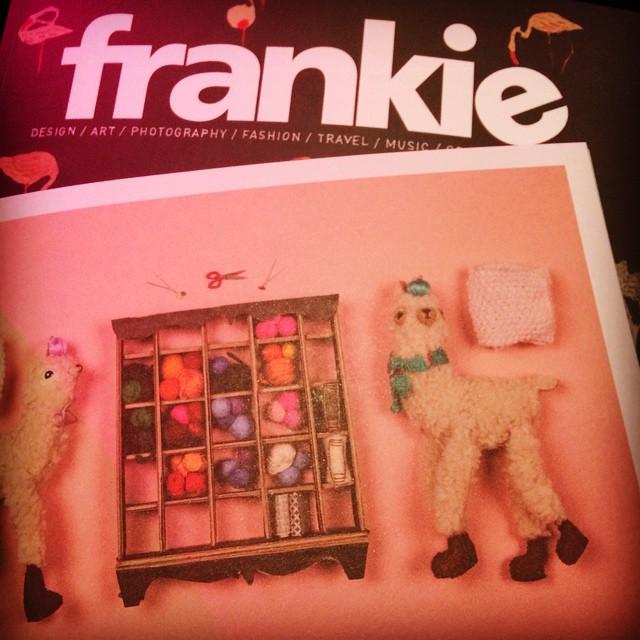 Thanks for my frankie! @frankiemagazine #VAMFF #melbourne