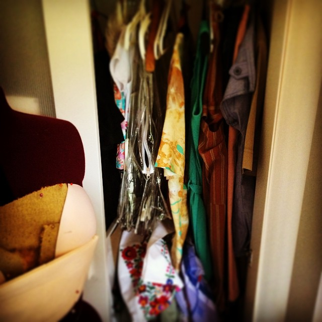 Check out our Vintage Wardrobe on line, some interesting prices to help inspire your next design.  www.lauralana.com.au/shop/  #getcreative