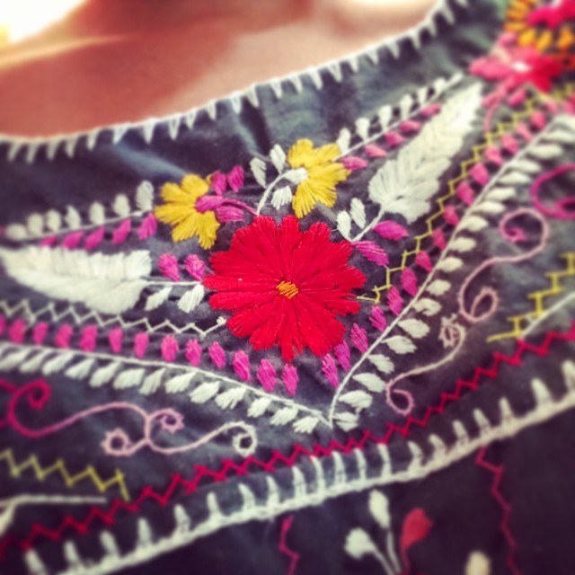 LOVE embroidery! It's getting us through Friday 😍❤️❤️😜 #getcreative