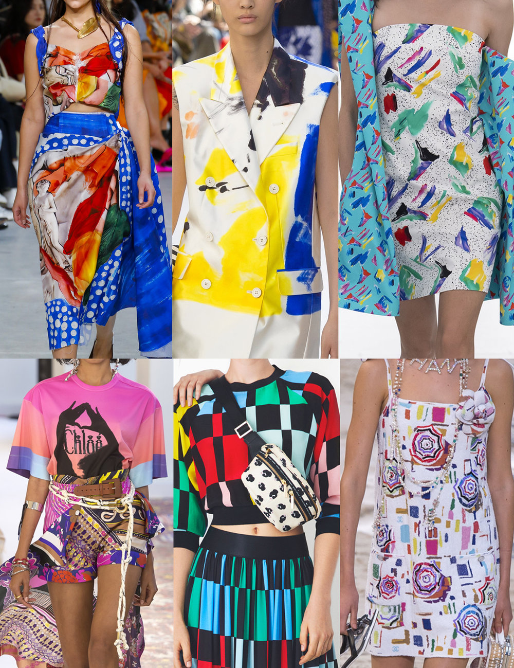 Spring 2019 - Marni, Dries van Noten, Louis Vuitton, Chloe, Alice and Olivia, Chanel