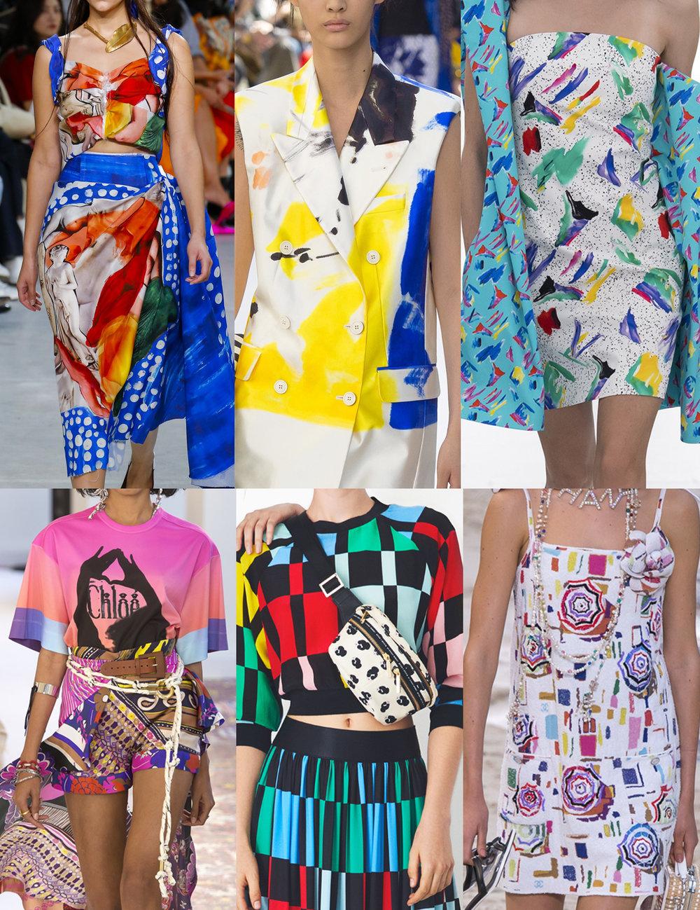 Spring 2019 - Marni, Dries van Noten, Louis Vuitton, Chloe, Alice and Olivia, Chanel