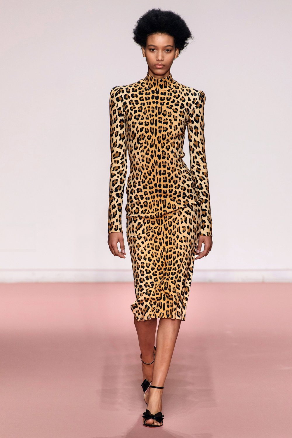 Leopard - The strongest pattern by far, too obvious to mention, knits, dresses, skirts, coats, capes, pants, shoes and accessories (everywhere!) - Blumarine