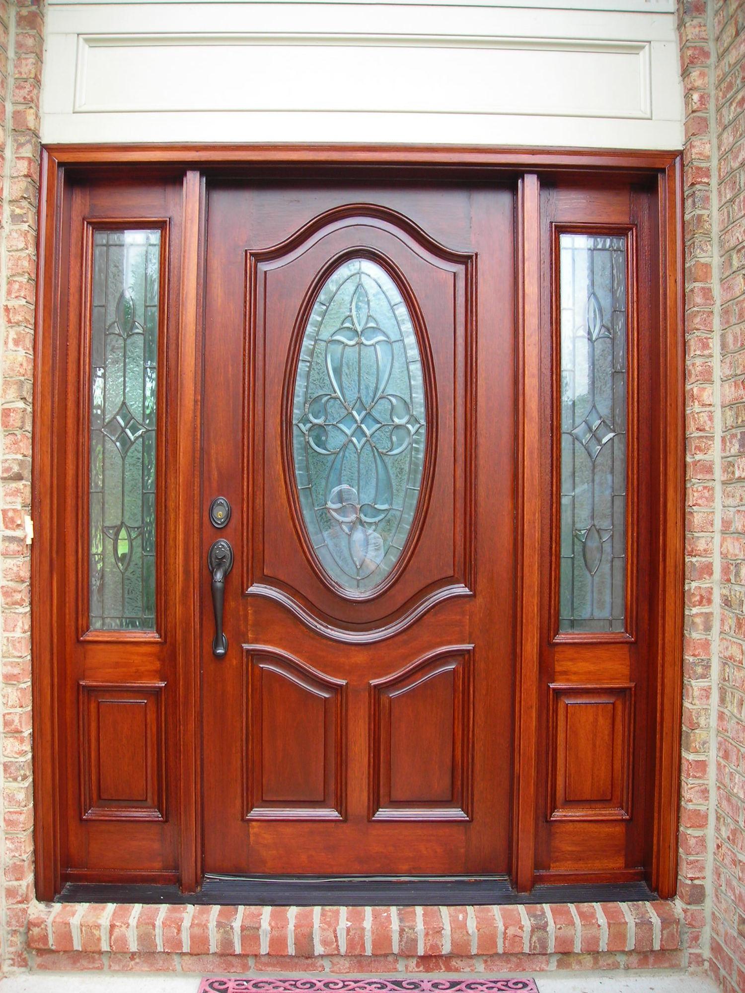 Door renew wood door restoration mahogany door finishedg rubansaba