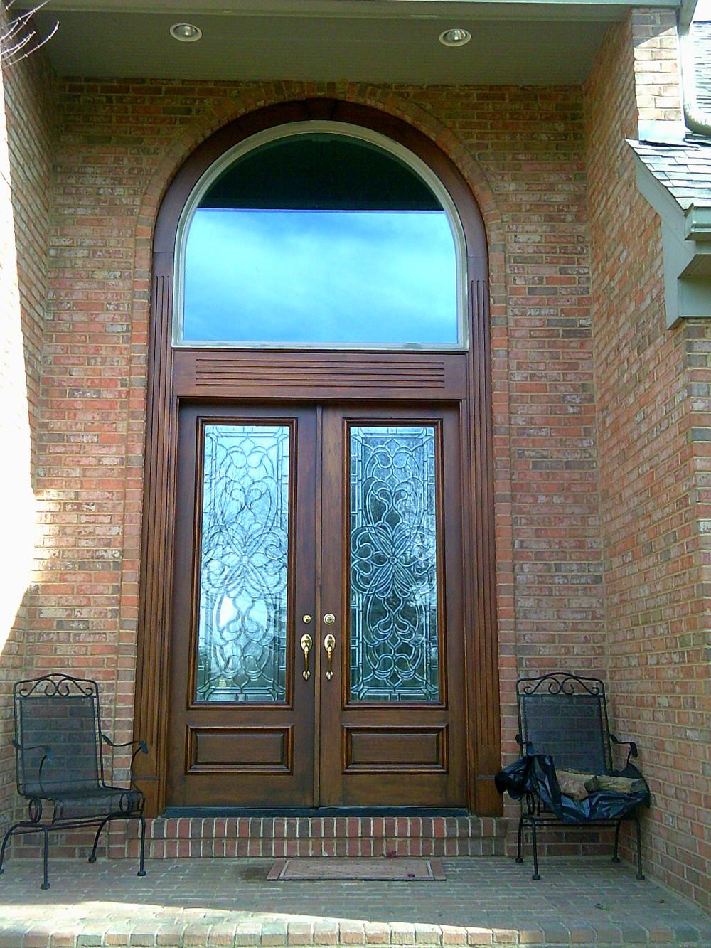 Door Renew Restore wood companies refinishing front entry elegant residential cost