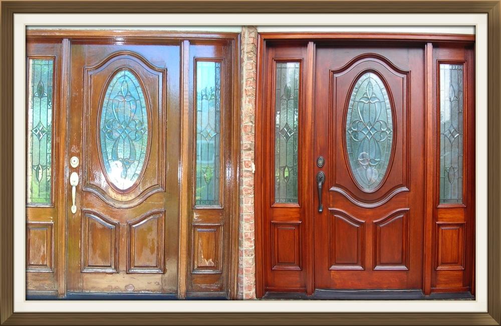 Fantastic Front door restoration and refinishing — Door Renew | Wood Door  EB24
