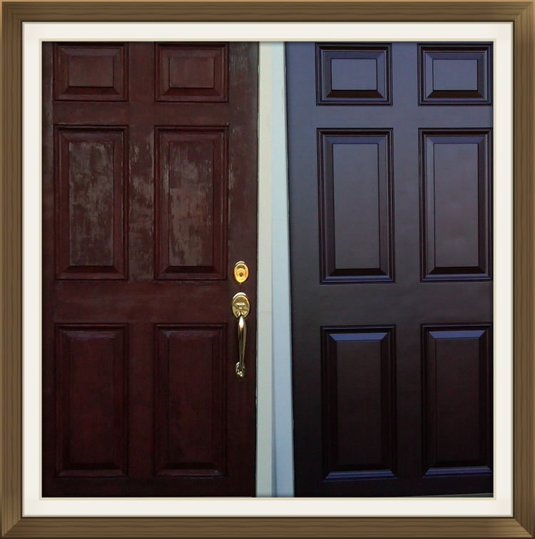 Front door restoration and refinishing — Door Renew | Wood Door ...