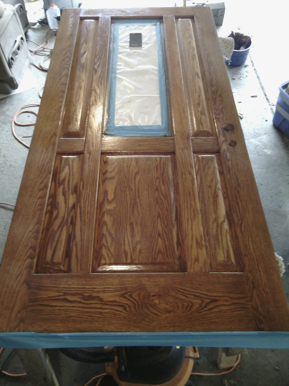 entry-door-stain-restain-restoration-renew-replacement : door varnish - pezcame.com
