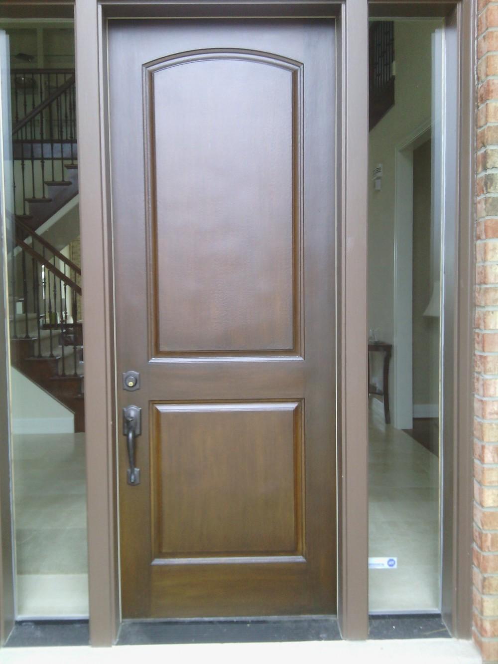 Process Door Renew Wood Door Restoration