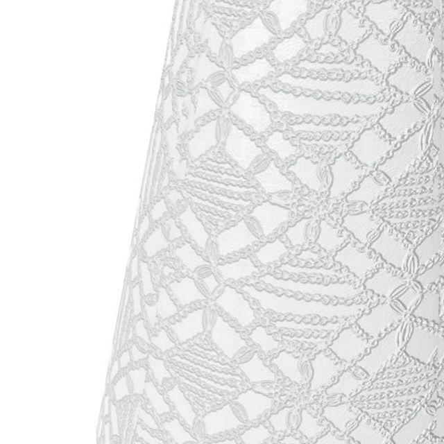 White on white on white. Close up shot of a design for a US based fashion brand. #dezeen #azuremagazine #elledecor #furnituredesign #canadiandesigner