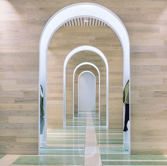 Glad to have helped on his terrazzo arched dreamscape interior for Snarkitecture x KITH.  #terrazzocadnightmares #miamidesign #retaildesign #canadiandesigner #dezeen #azuremagazine
