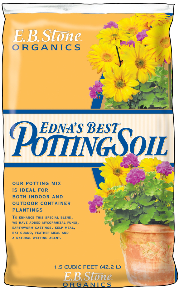 EB Stone Edna's Best Potting Soil at Cornell Farm