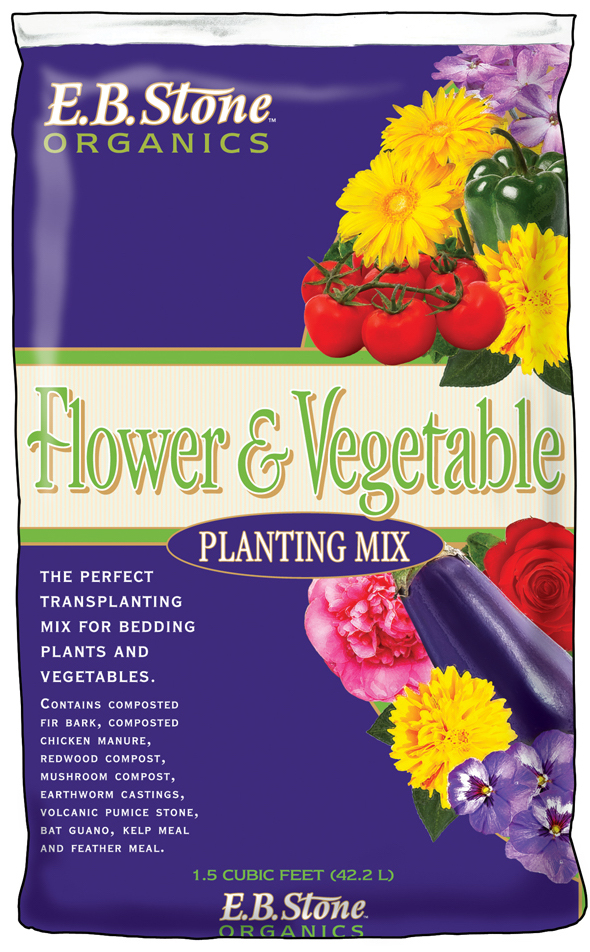 EB Stone Flower and Vegetable Planting Mix at Cornell Farm