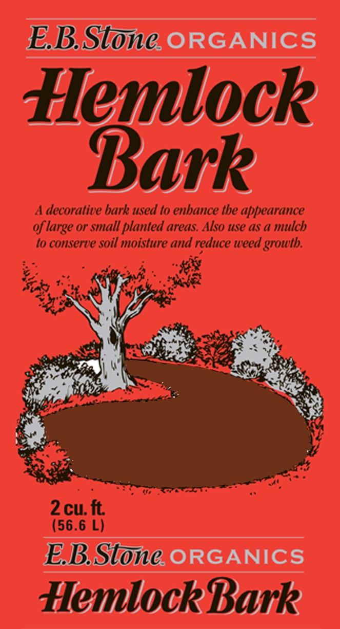 EB Stone Hemlock Bark at Cornell Farm