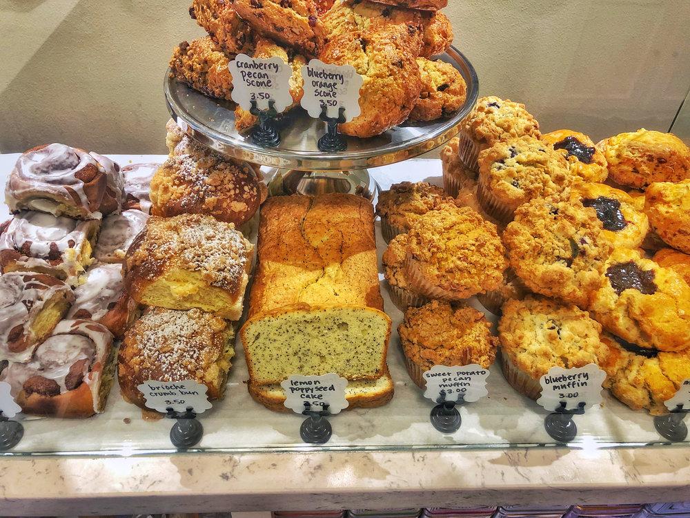 Bakery Treats at Cornell Farm Cafe.JPG