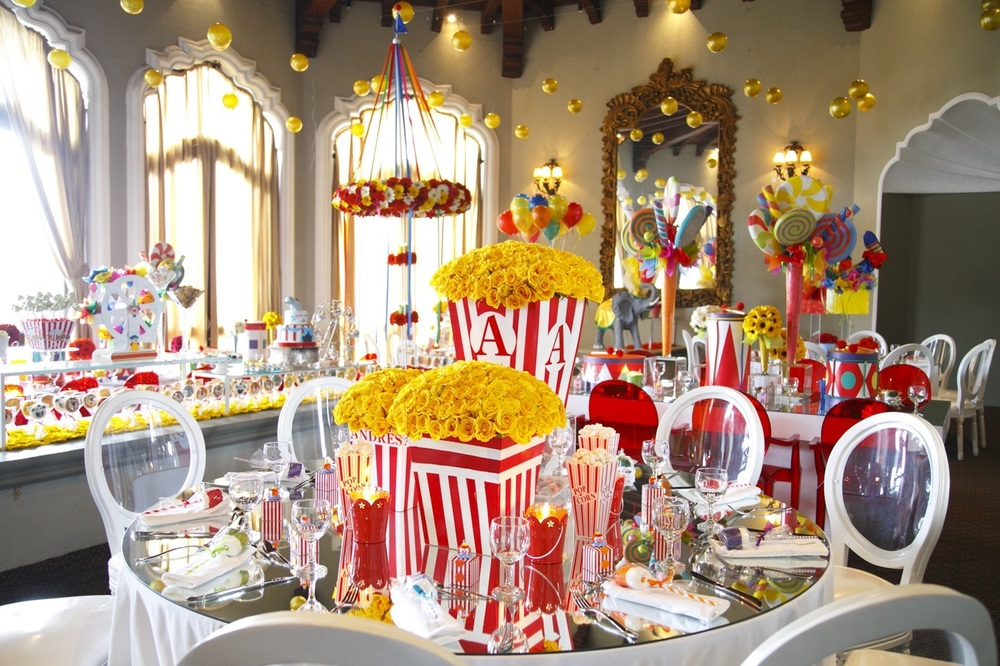Circus inspired Andres Baby Shower