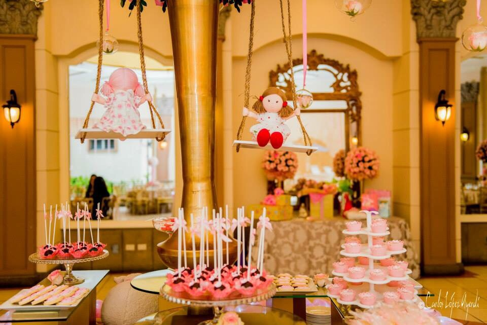 Gold & Pink Agustina Baby Shower