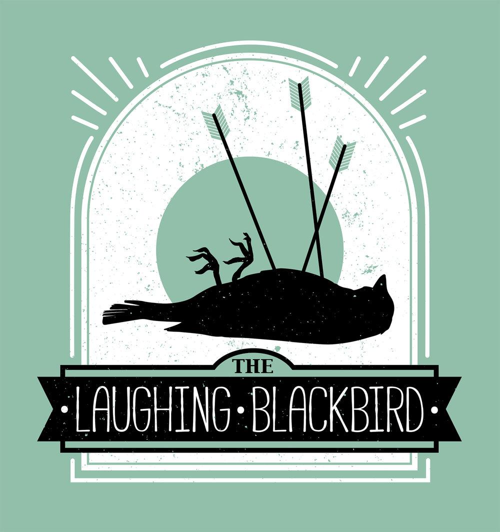 The Laughing Blackbird Logo Design