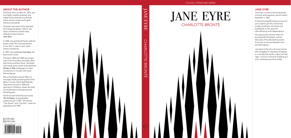 Abstract fire form   as a motif to capture the importance of passion and fire in Jane Eyre.