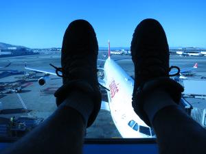 Pondering my adventure at SFO