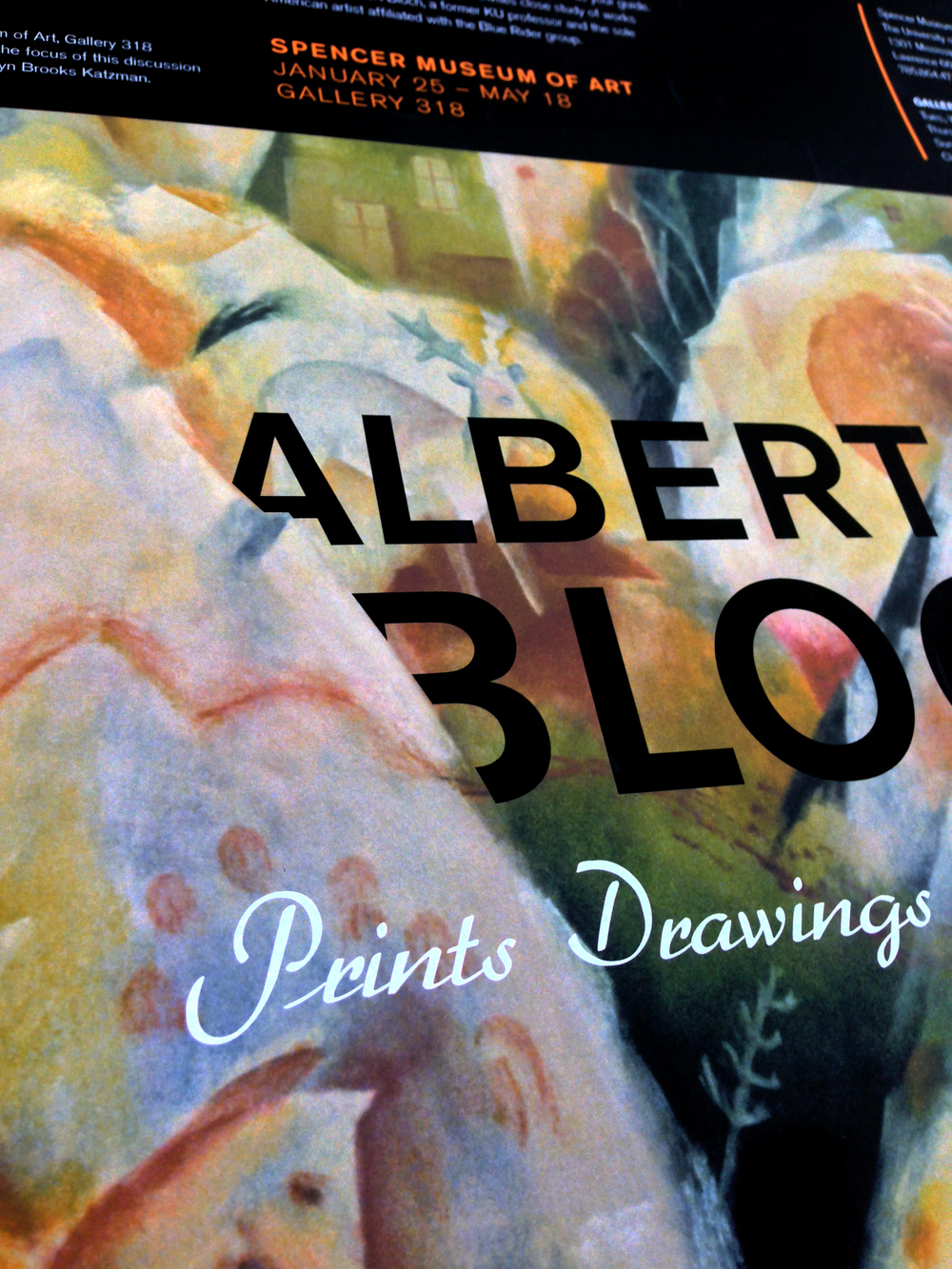 Albert Bloch: Prints, Drawings, & Paintings | Museum Exhibit Collateral